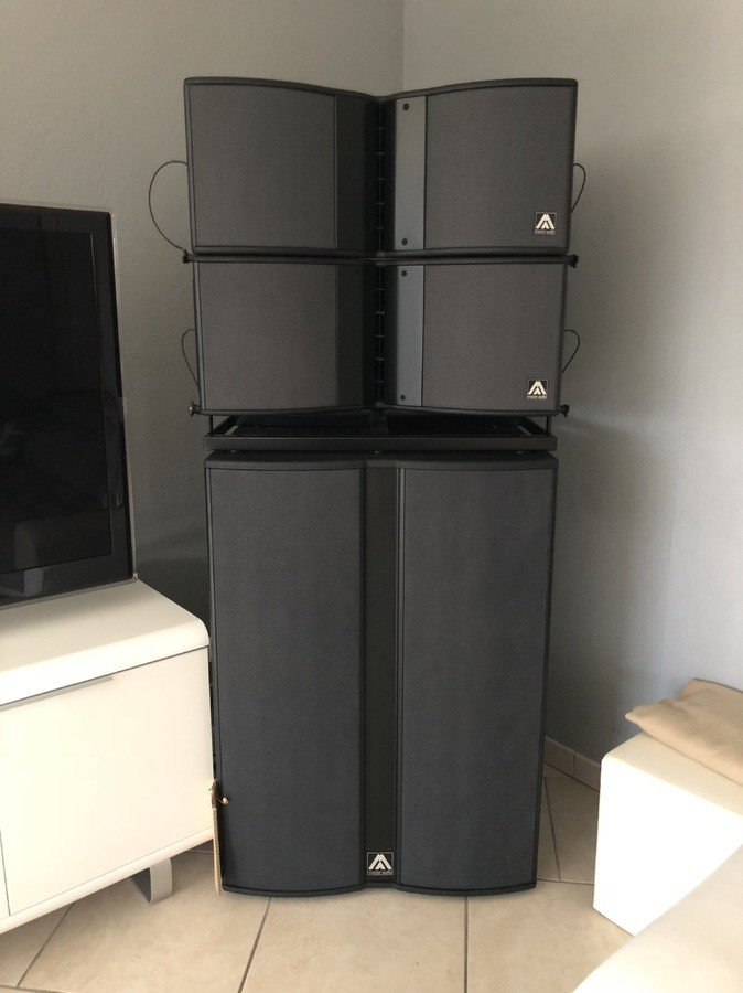 Master Audio X210 array series (72213)
