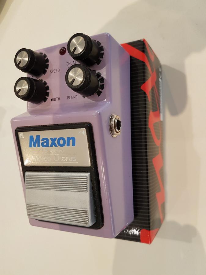 Maxon CS9-Pro Stereo Chorus boogie les bons tuyaux images