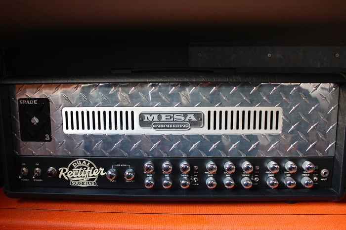 Mesa Boogie Dual Rectifier 3 Channels Head mada images