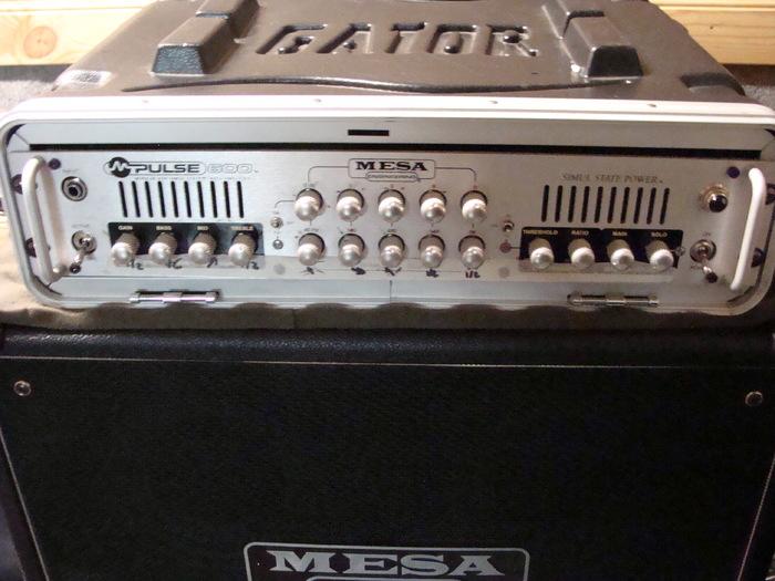 Mesa boogie m pulse 600 image 1785076 audiofanzine for Yamaha cp4 weight