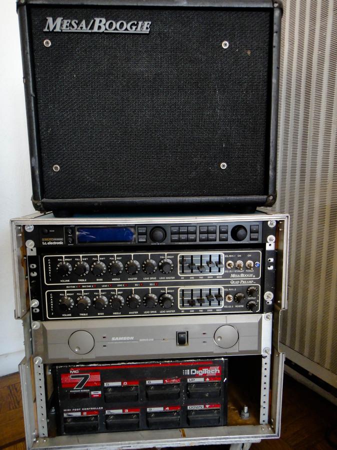 Photo Mesa Boogie Quad Preamp : Mesa Boogie [Preamp Series ...