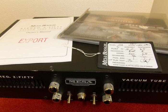 Mesa Boogie Stereo 2:50 (79980)