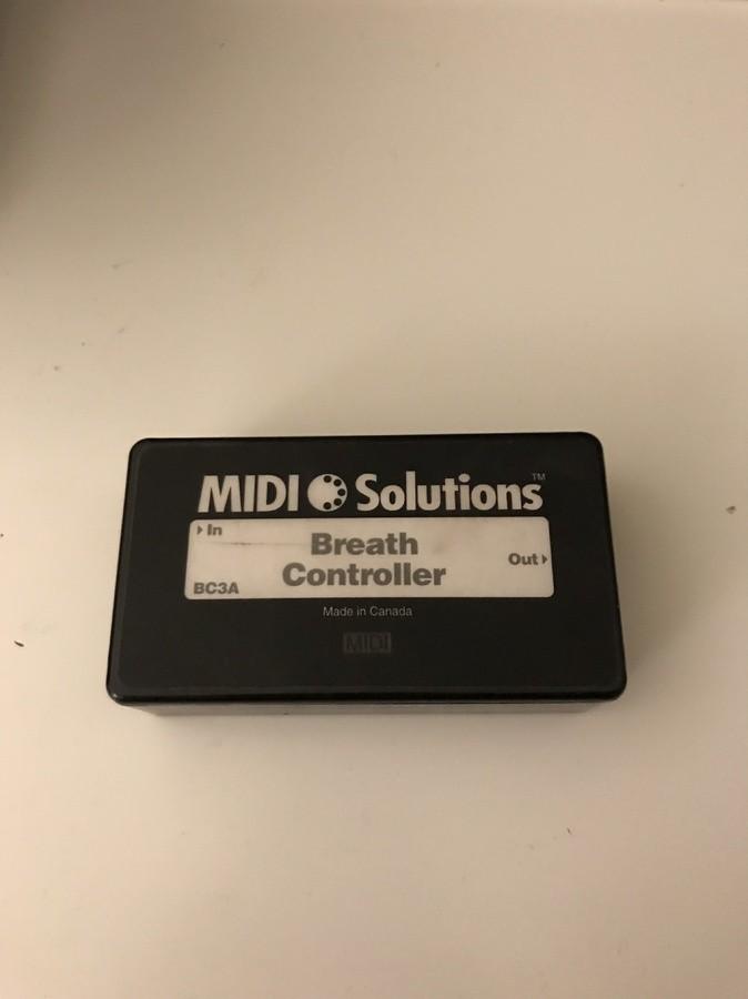 Midi Solutions Breath Controller (43065)