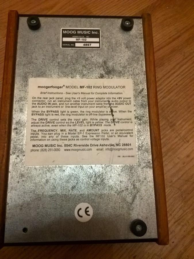 Moog Music MF-102 Ring Modulator (54923)