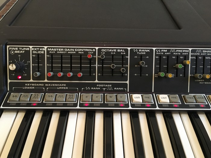 Moog Music Polymoog Synthesizer (203A) (9755)
