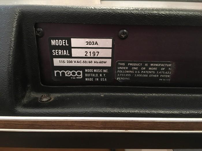 Moog Music Polymoog Synthesizer (203A) (52342)