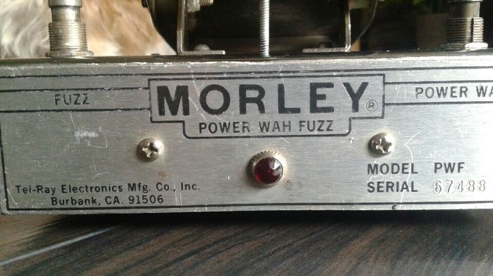 photo morley power wah fuzz morley power wah fuzz 14651 1542728 audiofanzine. Black Bedroom Furniture Sets. Home Design Ideas
