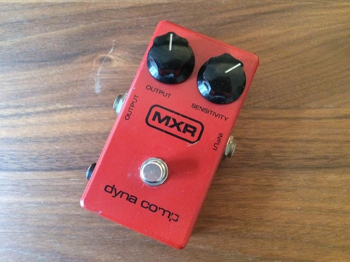 MXR M102 Dyna Comp Block Logo Vintage (49160)