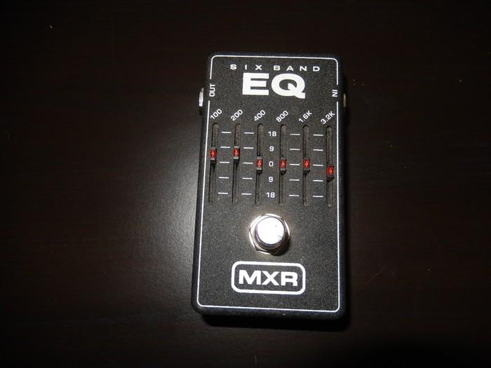 MXR M109 6 Band Graphic EQ (88119)