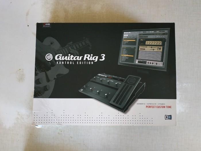 Native Instruments Guitar Rig 3