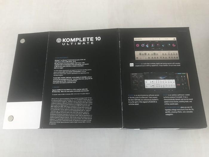 Native Instruments Komplete 10 Ultimate (55)