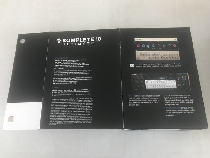 Native Instruments Komplete 10 Ultimate (42660)
