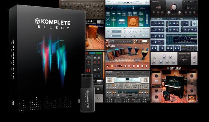 NI KOMPLETE 11 SELECT pack screenshots