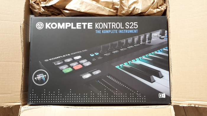20171205 KontrolS25 & Komplete Select!