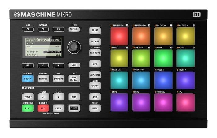 Native Instruments Maschine Mikro MKII musikia07 images