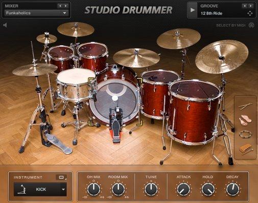 Native Instruments Studio Drummer sanol78 images