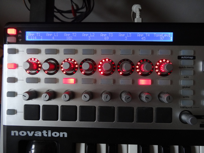 Novation Remote 25 SL MkII Serious images