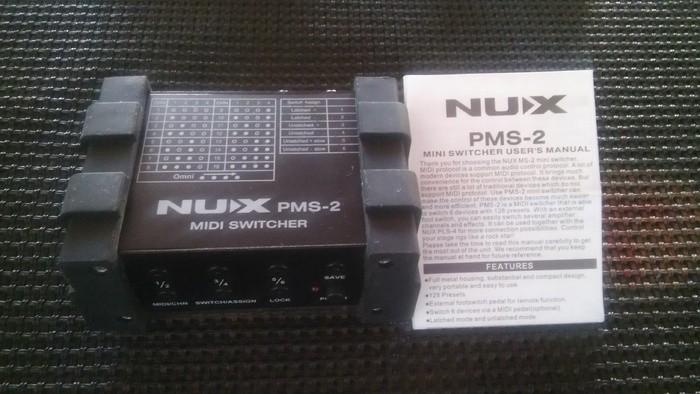 nUX PMS-2 Midi Switcher (13408)
