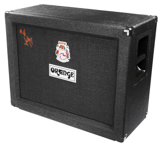 Orange #4 Jim Root PPC212 Speaker Cabinet (3604)