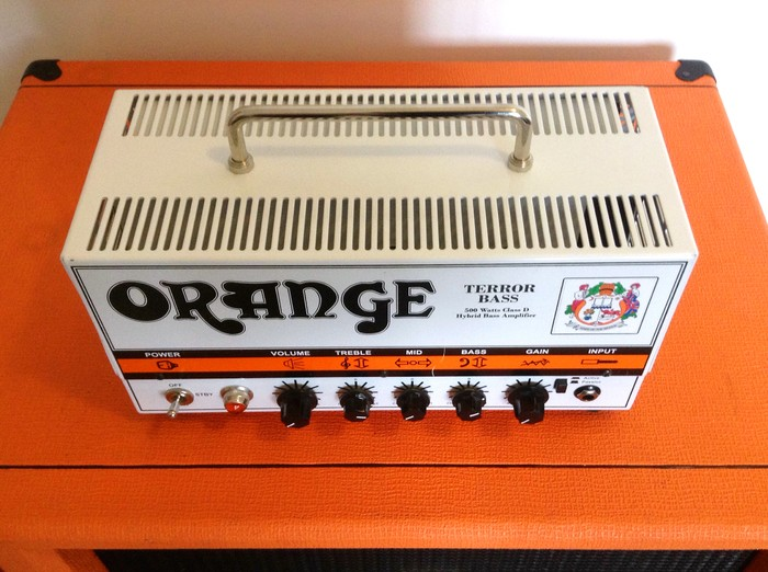 Tete Orange Bass Terror 45 haut