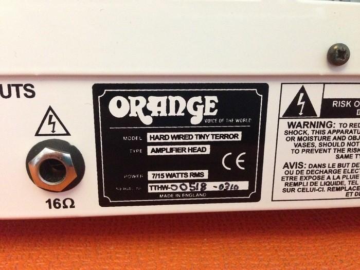 Orange TinyTerror Hard Wired Edition (44399)