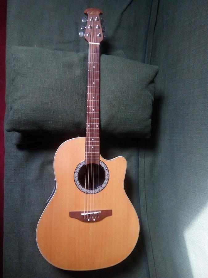 Ovation Celebrity CC24 Acoustic-Electric Guitar | Musician ...