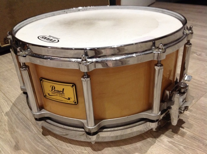 Pearl free floating 14x6.5 érable (24080)