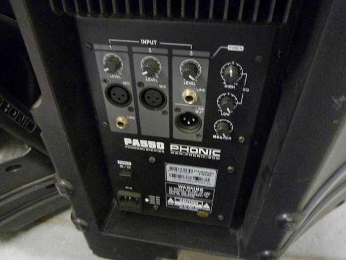 Phonic PA 550 PAUL5 images