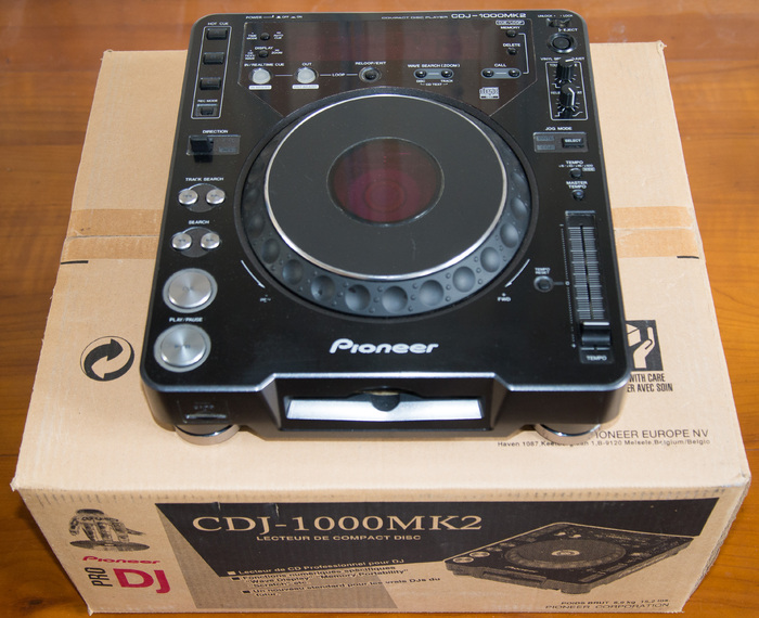 how to play music cdj1000 mk2