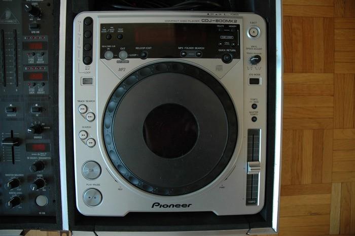 Pioneer CDJ-800 MK2 (37834)