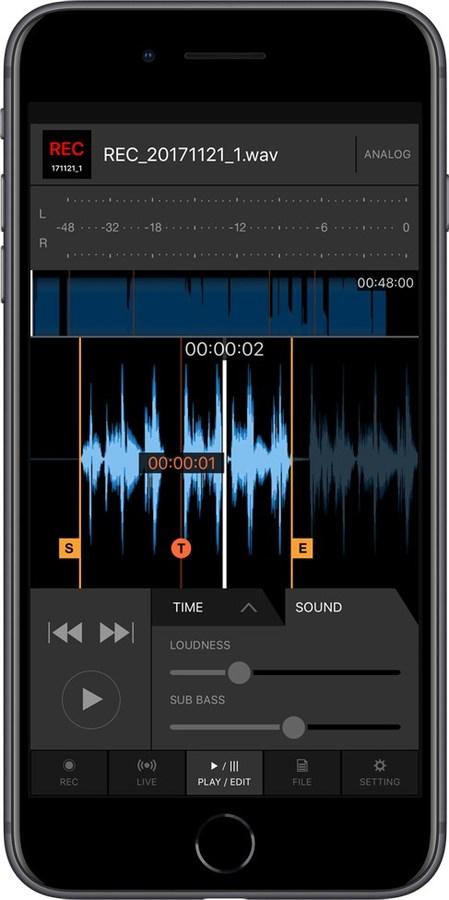 djm rec iphone play edit high