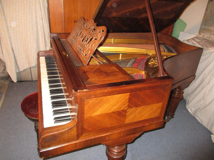 photo pleyel piano quart de queue pleyel piano quart de queue 38605 1608004 audiofanzine. Black Bedroom Furniture Sets. Home Design Ideas