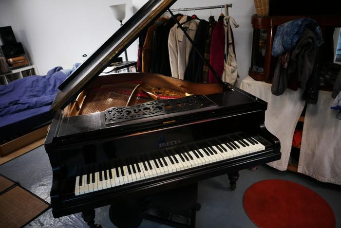 photo pleyel piano quart de queue novation supernova 92155 2035093 audiofanzine. Black Bedroom Furniture Sets. Home Design Ideas