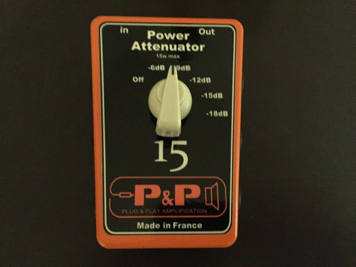 Plug & Play Amplification Power Attenuator 15 (47313)