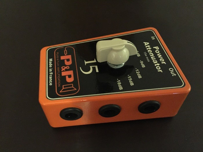 Plug & Play Amplification Power Attenuator 15 (49869)