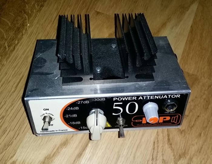 plug play amplification power attenuator 50 image 745720 audiofanzine. Black Bedroom Furniture Sets. Home Design Ideas