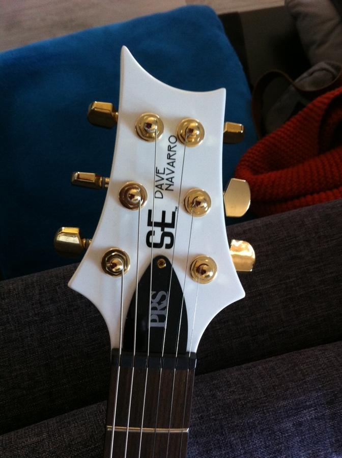 PRS SE Dave Navarro - Jet White (62905)