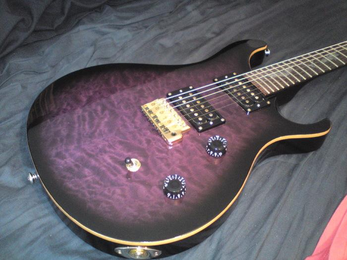 PRS SE Paul Allender Purple image 271117 Audiofanzine