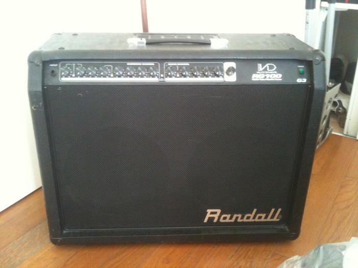 Randall Rg 100 G3 Image 879847 Audiofanzine border=