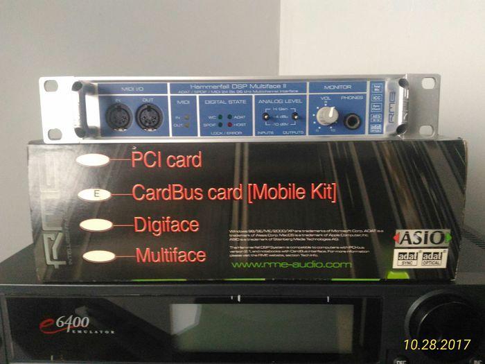 RME Audio Hammerfall DSP Multiface II (36968)