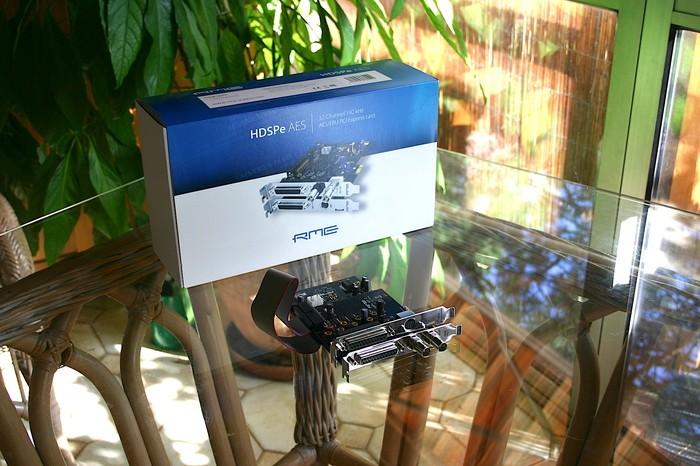 RME Audio HDSPe AES (36998)