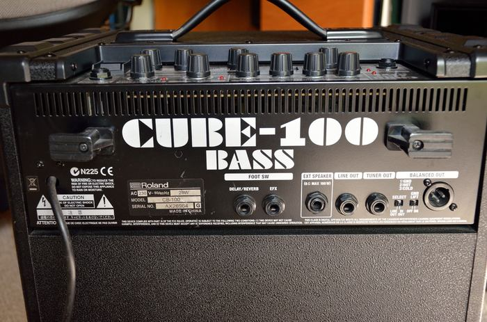 roland cube 100 bass amp manual