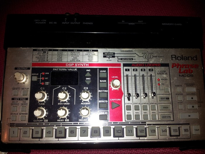 Roland MC-09 PhraseLab (64771)