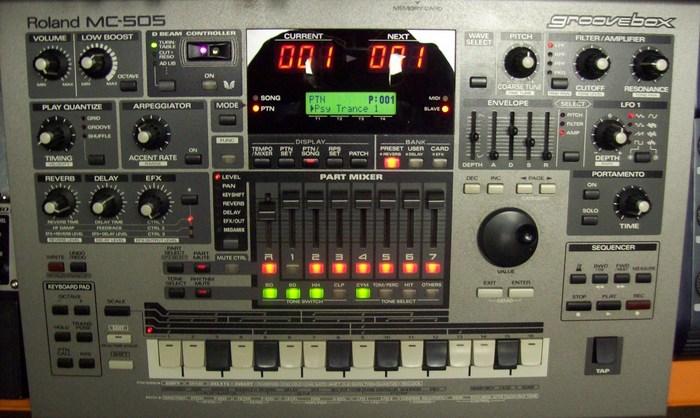 Fotos Roland MC-505 von mk.ultra.