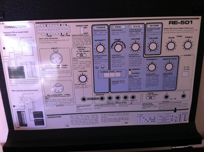 Roland RE-501 Chorus Echo (32520)