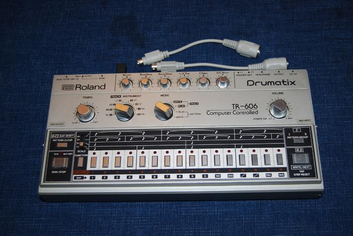 Roland TR-606 RealSound.eu images