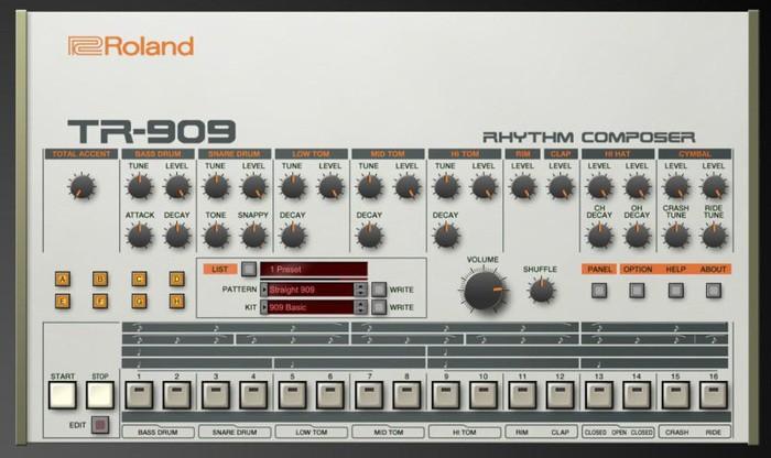 roland tr 909