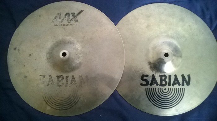 Sabian AAX Metal Hats 14