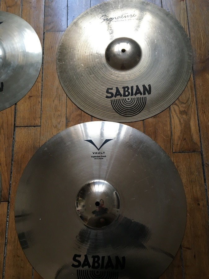 Sabian Chad Smith Explosion Crash 20.5
