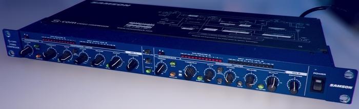 [VENDS] Compresseur rack stéréo Samson S COM+  Home studio